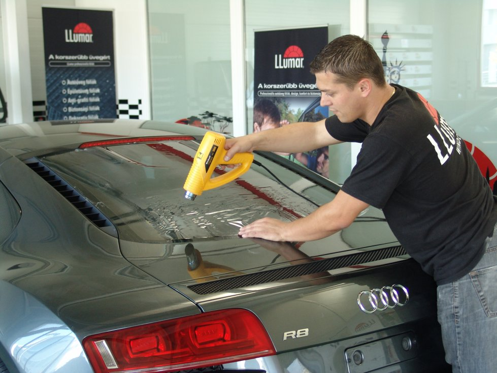 Audi R8 autófoliázas LLumar Avantgarde autófóliával